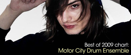 Featured DJ Chart: Motor City Drum Ensemble (Best of 2009)   Juno Plus