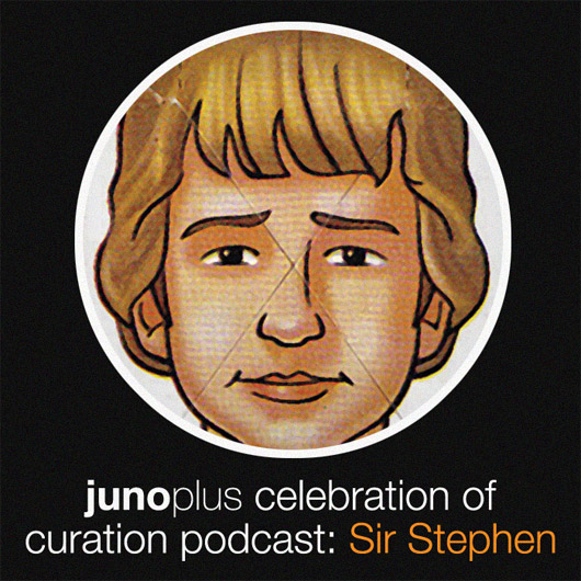 Celebration of Curation Podcast: Sir Stephen