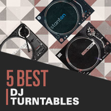 10 Best: DJ Turntables