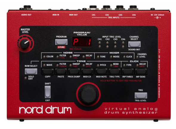 Nord Drum 2 Percussion Synthesizer
