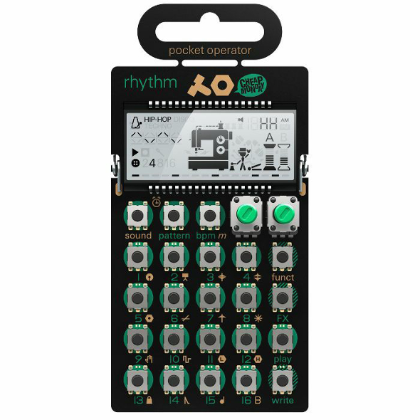 PO12 Pocket Operator Rhythm Drum Machine
