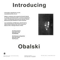Introducing Obalski