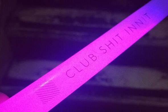 Diagonal glowstick