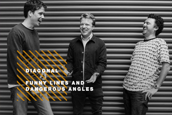 Diagonal: Funny Line and Dangerous Angles