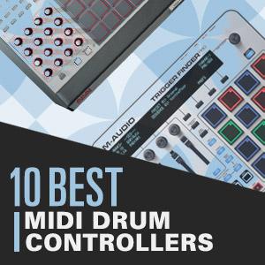 10 Best: MIDI Drum Controllers