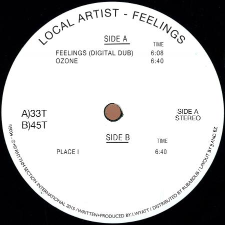 Local Artist - Feelings