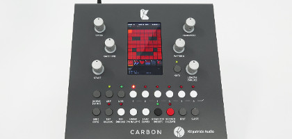 Carbon sequencer arrives from Kilpatrick Audio