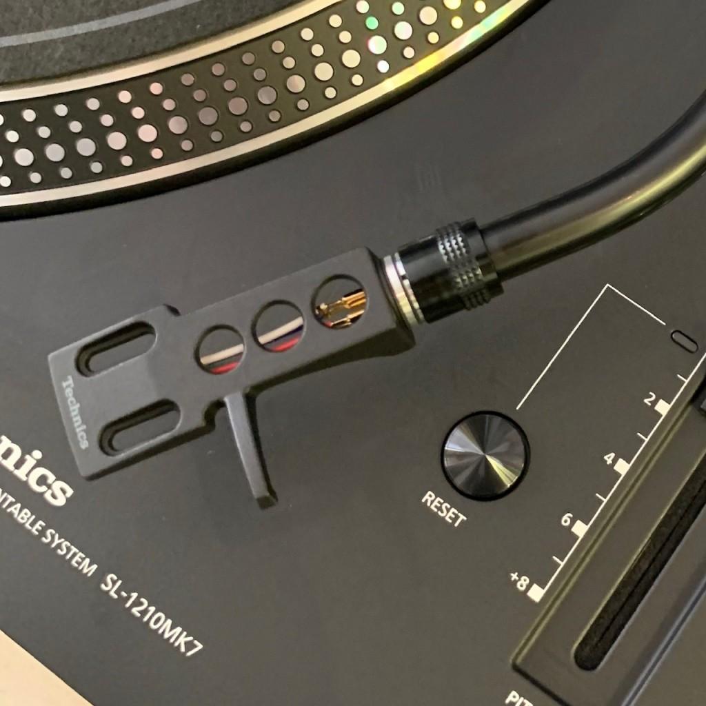 Technics SL-1210 MK7 tonearm headshell