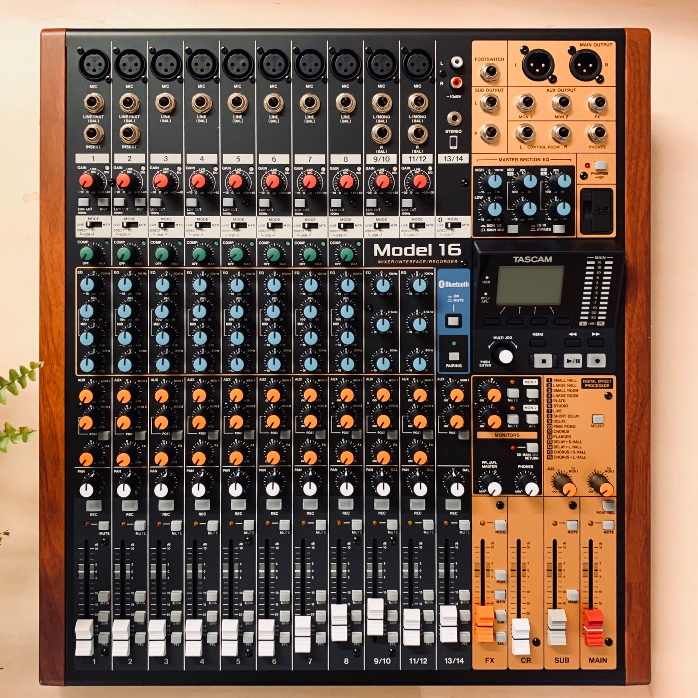 Tascam Model 24 24 Channel Multitrack Recorder and Analog Mixer C-STOCK