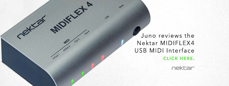 Nektar Midiflex 4 reviewed
