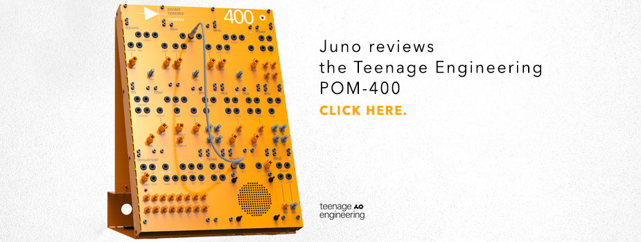 Teenage Engineering POM-400 reviewed