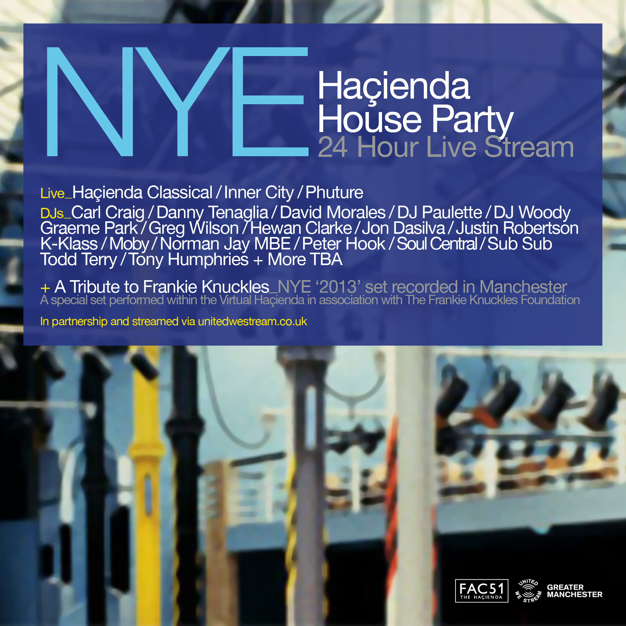 Hacienda flyer