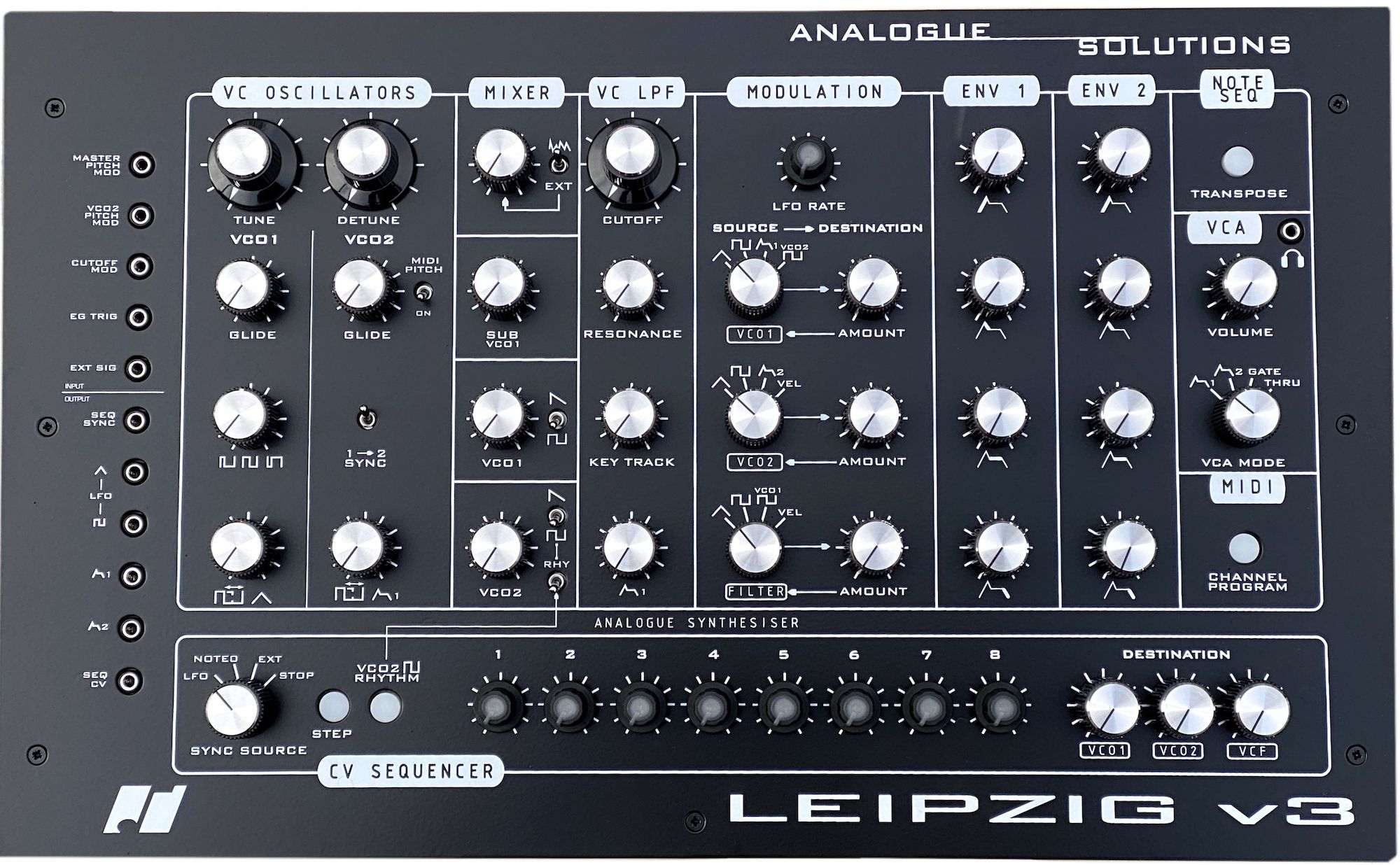 analogue solutions leipzig v3 front