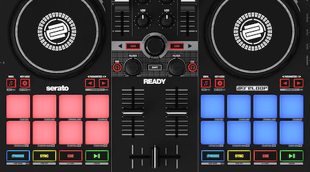 New Reloop Ready is a compact Serato controller with pro features