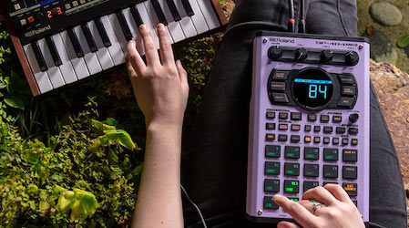 Roland bring back the cult classic SP-404 sampler